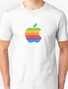 Apple Logo Rainbow Unisex T-Shirt