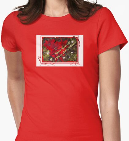 Have Yourself A Merry Little Christmas 2 Womens Fitted T-Shirt