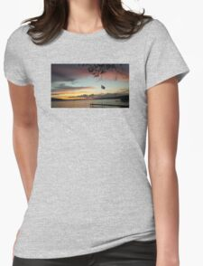 Lake02 Womens Fitted T-Shirt