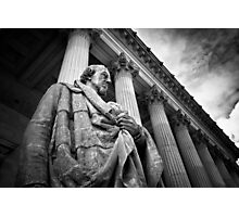 The Earl of Beaconsfield, St Georges Hall, Liverpool Photographic Print