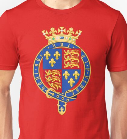 Coat of Arms of the Kingdom of England (1399-1603) Unisex T-Shirt