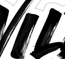 WILD - Troye Sivan - Black Sticker
