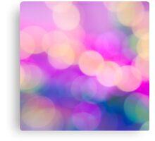 Abstract pink purple circle pattern design Canvas Print