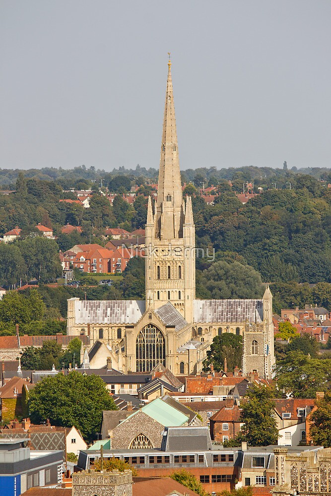 Norwich Anglican Cathedral by Nick Jermy
