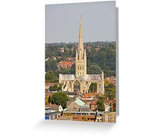 Norwich Anglican Cathedral Greeting Card