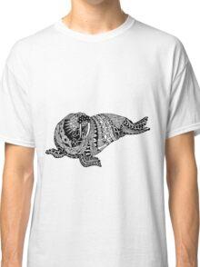 Walrus Drawing Classic T-Shirt