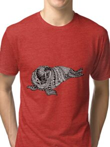 Walrus Drawing Tri-blend T-Shirt