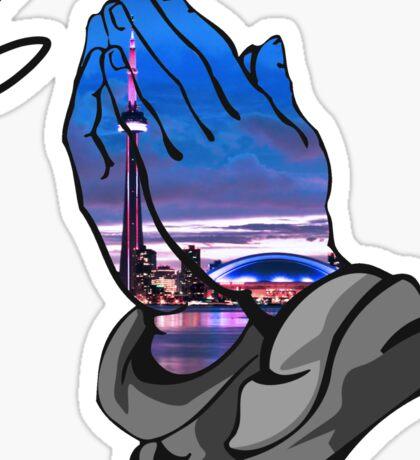 6 God Toronto [Original Work] Sticker