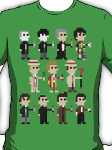 Player One: Select Your Doctor T-Shirt