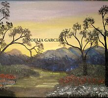 Sunrise by the Mountains by Noelia Garcia
