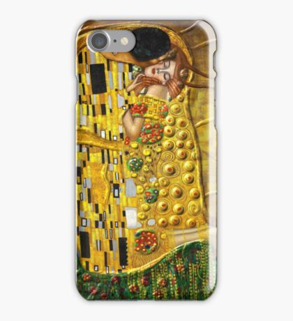 My Klimt:Kiss iPhone Case/Skin