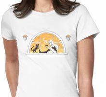Evening Tea Womens Fitted T-Shirt