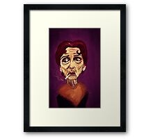 OOH I SAY - from the 'stenders range Framed Print