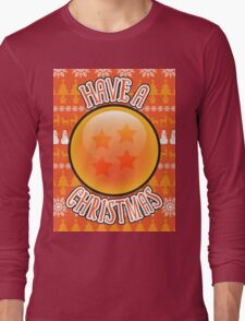 A 4 Star Christmas Long Sleeve T-Shirt