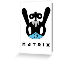 BAP MATRIX Toto Mato Greeting Card