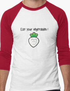 Eat your vegetables ! Men's Baseball ¾ T-Shirt