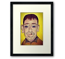 SMUG - from the 'stenders range'    Framed Print
