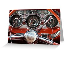'59 Pontiac Greeting Card