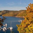 Autumn at the lake by Thea 65