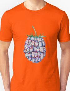 Low Poly Watercolor Blackberry T-Shirt