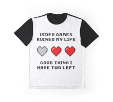 Video Game Life Graphic T-Shirt