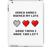 Video Game Life iPad Case/Skin