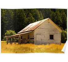 Coleman Valley Barn Poster