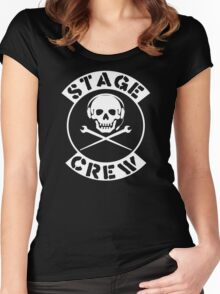 Stage Crew Women's Fitted Scoop T-Shirt