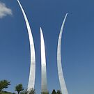 USAF Memorial, Arlington by Barrie Woodward