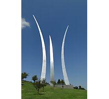 USAF Memorial, Arlington Photographic Print