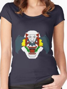 Airwolf 8BIT Women's Fitted Scoop T-Shirt