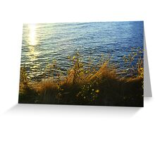 Seaside Flowers Greeting Card