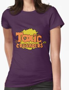 Toxic Crusaders Womens Fitted T-Shirt