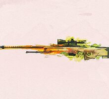 CS:GO Dragon Lore AWP by LexyLady