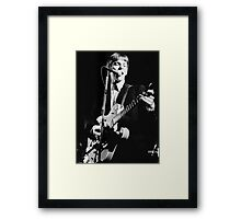 Chris Wilson, Flamin' Groovies Framed Print