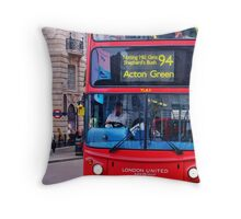 The Bus Driver Throw Pillow