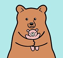 Big Bears Need Hugs Too! by Zoe Lathey