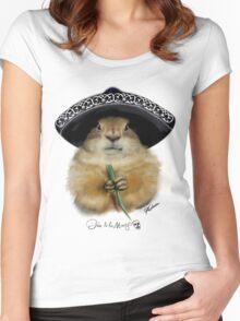 Dia de los Muertos - Prairie Dog Women's Fitted Scoop T-Shirt