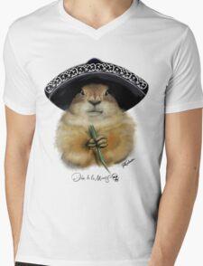 Dia de los Muertos - Prairie Dog Mens V-Neck T-Shirt