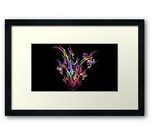 Magenta Bouquet Framed Print