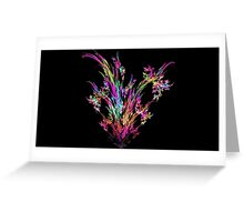 Magenta Bouquet Greeting Card