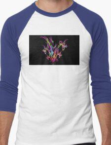 Magenta Bouquet Men's Baseball ¾ T-Shirt