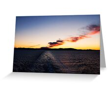 Oh, the Sky! Greeting Card