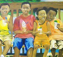 Snowball Stand Kids by Debbie Douglass