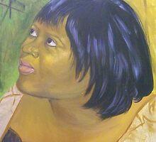 Debbie Douglass, A Self Portrait by Debbie Douglass