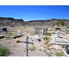 Last Rites In The Deserts Of Nevada Photographic Print
