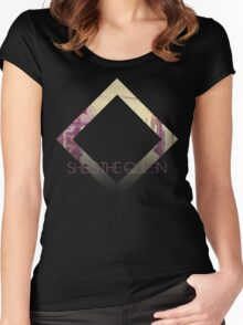 She's The Queen Women's Fitted Scoop T-Shirt