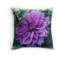 Born of the Purple Throw Pillow