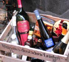 Wine basket Sticker