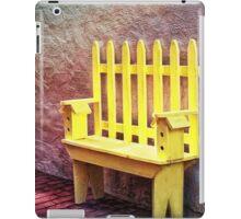 The Bird House Bench iPad Case/Skin